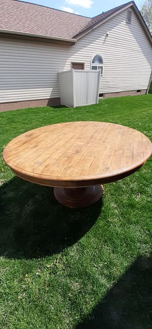Arhaus round dining table restoration hardware for Sale in Grove City, OH