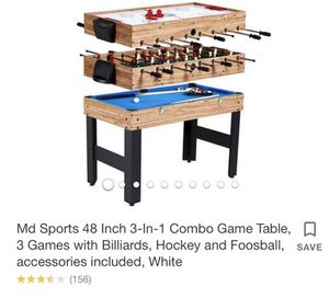 3 in 1 combo game for kids for Sale in Hendersonville, TN