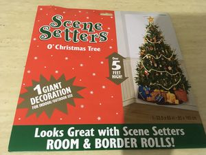 Christmas tree scene setters for Sale in Rowland Heights, CA
