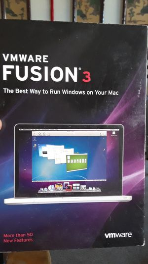 VMware Fusion 3 the best way to run Windows on your Mac for Sale in Bay Point, CA