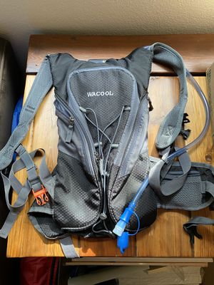 Hydration backpack - used once for Sale in Gig Harbor, WA