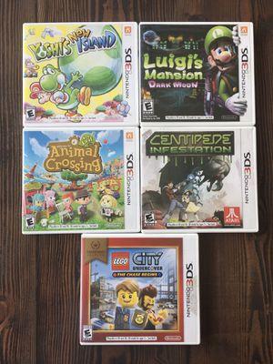 Nintendo 3DS Games - Yoshi Luigi Animal Centipede LEGO for Sale in Brentwood, CA
