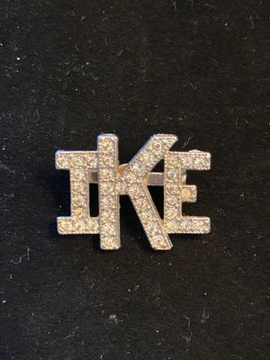 Vintage IKE Pin, Brooch- Very Cool Piece- Good Condition-#BryceLeVanCushingLiquidator for Sale in Miami, FL