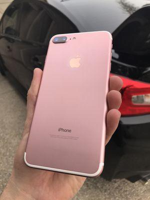 iPhone 7 Plus 128gb, T-Mobile & Metro pcs for Sale in Sacramento, CA