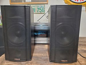 Vintage Klipsch KSB 2.1 Speaker Matched Pair Tractrix Horn for Sale in Puyallup, WA