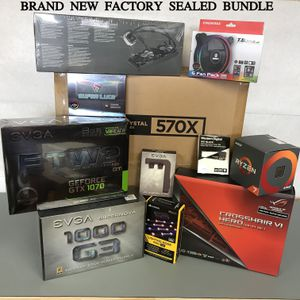 AMD Ryzen GTX GeForce Computer Gaming bundle BRAND NEW SEALED BOXES for Sale in Long Beach, CA
