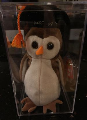 "Ty Beanie Baby ""Wise"" for Sale in Downers Grove, IL"