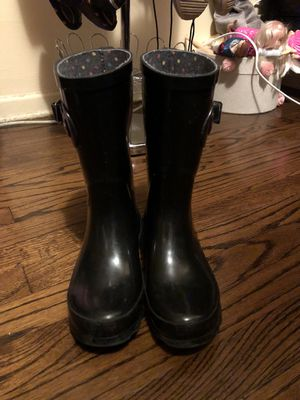 Black rain boots for Sale in Gardena, CA