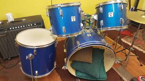Drum set blue for Sale in Medina, WA