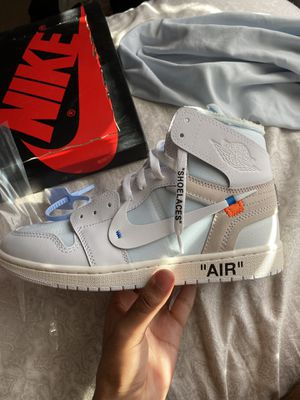 Air jordan 1 off white for Sale in Corona, CA