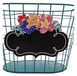 The Pioneer Woman Spring Blue Wire Chalkboard Basket for Sale in Fort Wayne,  IN