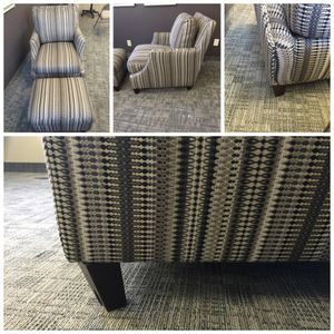Shanghal Trenton Chair and Ottoman Set for Sale in Salt Lake City, UT