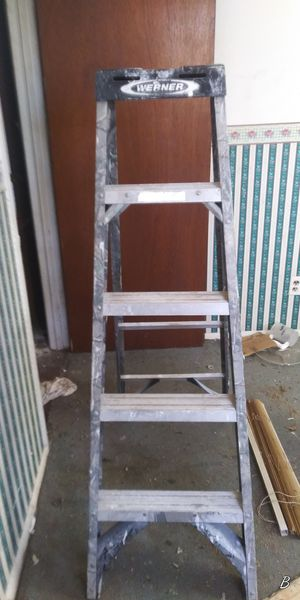 Ladders_ one 5 foot, one 6 foot for Sale in St. Louis, MO
