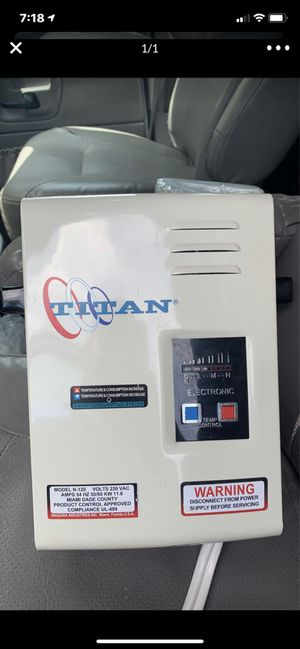 TITAN WATER HEATER N-120 for Sale in Miami, FL