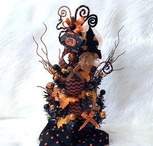 Treat or trick Mini Halloween table top tree for Sale in Corona, CA