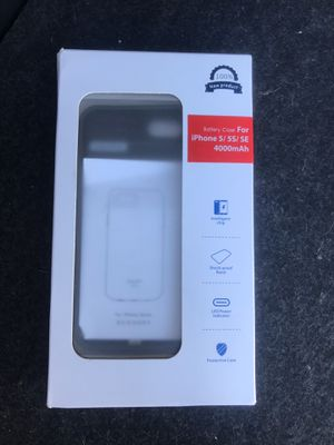 iPhone 5 charger case for Sale in Sacramento, CA