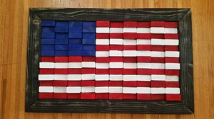 Flag 2x4 pieces for Sale in Fresno, CA