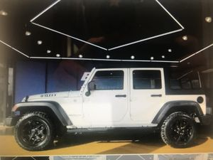 2015 jeep wrangler unlimited Willys for Sale in Bellaire, TX