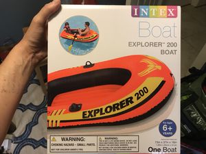 Inflatable Boat - explorer 200 for Sale in Seattle, WA