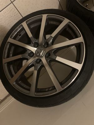 """4x 19"""" wheels and tires for Sale in Yonkers, NY"""
