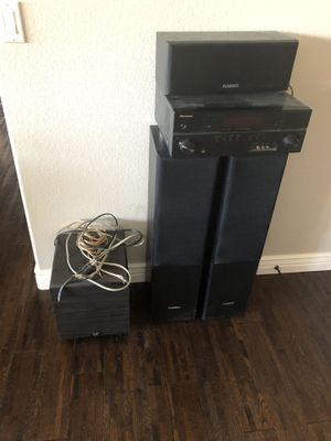 Receiver and floor speakers plus sub for Sale in Glendale, AZ