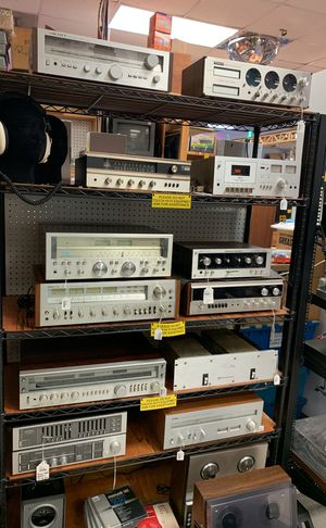 Vintage audio receivers for Sale in Houston, TX