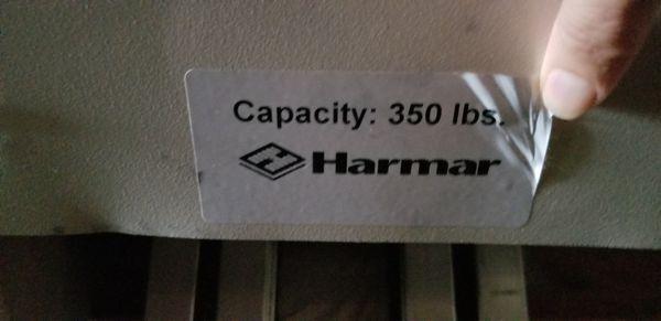 Harmer 350lb stair lift