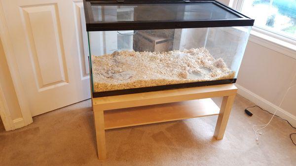 XL (40+gal) Reptile Aquarium
