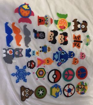 fuse perler bead creations for Sale in Fowler, CA