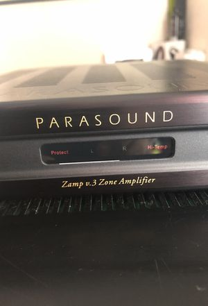 Parasound zamp v.3 zone amplifier! for Sale in San Diego, CA