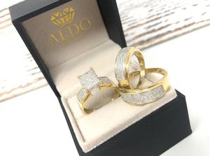 TRÍO WEDDING DIAMONDS AND GOLD 💍 🔥🔥FINANCING AVAILABLE 🔥🔥 for Sale in Kissimmee, FL