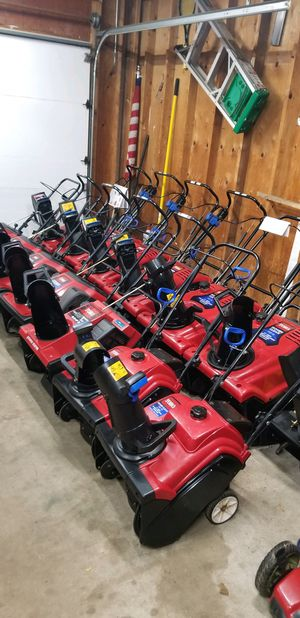 Toro snowblowers price starts at $285 To $485 for Sale in Bolingbrook, IL