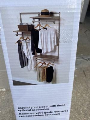 Light Grey Closet Organizer for Sale in Chicago, IL