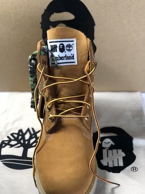 Timberland x Bape Undefeated Boots for Sale in Philadelphia, PA