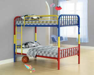 multicolored and divisible bunk bed ( new in box) for Sale in Hayward, CA