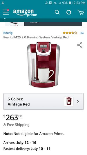 Keurig with kcup stand for Sale in Maple Valley, WA