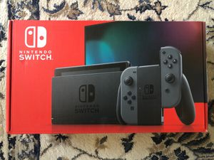 Brand New/Unopened Nintendo Switch Gray Portable Gaming Console 32 GB V2 for Sale in Imperial Beach, CA