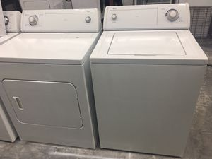 WHIRLPOOL WASHER AND DRYER! 5 month warranty! for Sale in Pineville, NC
