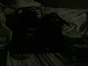 Xbox 360 + wired crotroller + 6 video games for Sale in Dearborn, MI