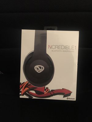 Ncredible Bluetooth headphones - BRAND NEW for Sale in Denver, CO