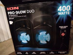 ION PRO GOW DUO (2 SPEAKERS) bluetooth for Sale in Alexandria, VA