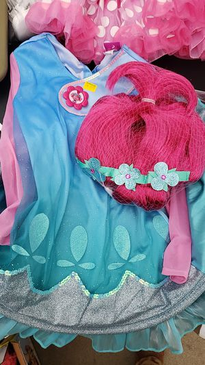 Poppy troll toddler girl Halloween costume for Sale in Mundelein, IL