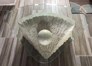 Beautiful Coastal Stone Coffee Table for Sale in Rockledge, FL