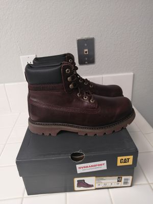 Brand new Caterpillar work boots for men. Sizes available. Soft toe for Sale in Riverside, CA