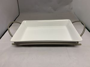 "Cambridge Baking Dish with Rack. 13.5""Wx9"" for Sale in Keyport, NJ"