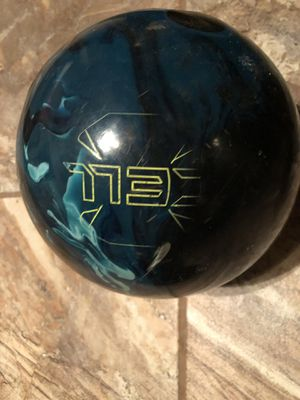 Bowling ball weight 13 pounds, Brand Cell. Set price $20 no lower check out photos for more details for Sale in Pasadena, TX