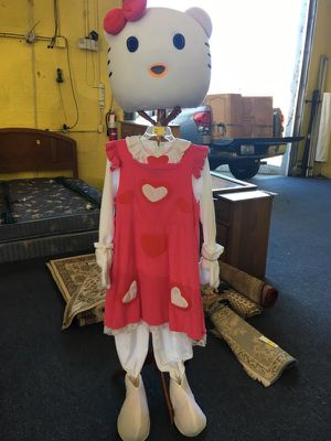 Hello Kitty mascot costume for Sale in Lexington, KY