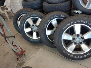 "20"" TOYOTA TUNDRA WHEELS for Sale in El Cajon, CA"