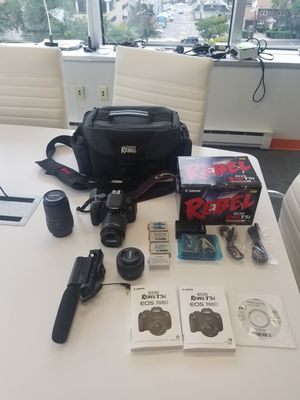 Canon T5i Pro Package for Sale in Bogota, NJ