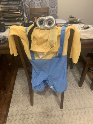 Minion halloween costume for 12-24 months for Sale in Fairfax, VA